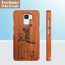 Wholesale 30pcs/lot Wooden Phone Cases For Huawei Mate 7 8 9 For Honor 7 Telephone Case Protective Back Cover For Huawei P8 P9