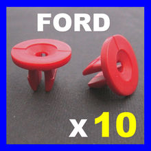 FOR FORD FOCUS MONDEO PUMA ENGINE UNDERTRAY TRIM COVER PLASTIC GROMMET EXPANDING NUT(China)