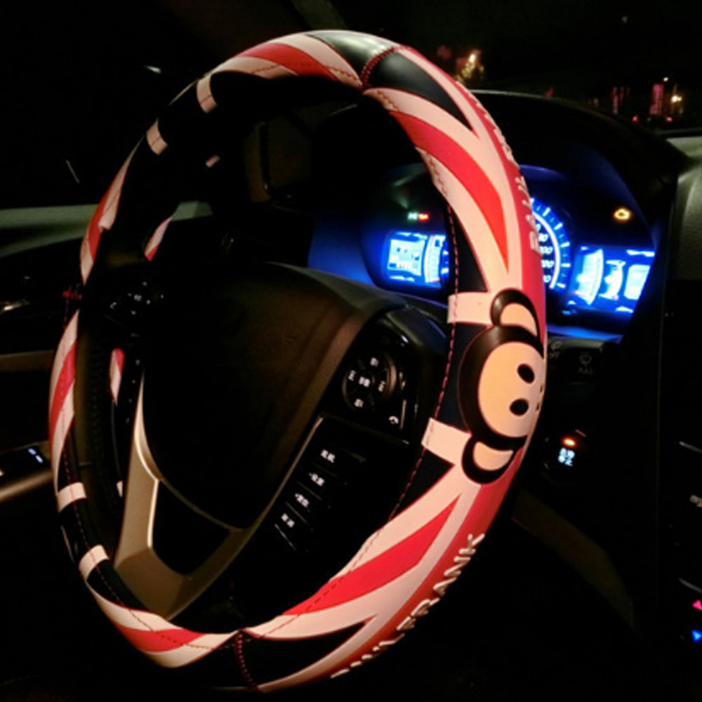 Hot New Cartoon Cute Steering Wheel Covers Mickey Mouse Printed Car Nte Electronics Circuit Samsung T100 T108 12