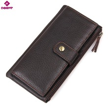 DOLOVE Brand Classic Men Wallet European&American  Leather Wallets Fashion Purse Card Holder Man Vintage Wallets D-7378