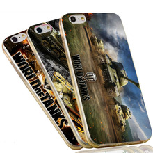 World of Tanks Slim Silicon Soft TPU Phone Case for iPhone 7 6 6S Plus 4 4S 5C 5 SE 5S Cover