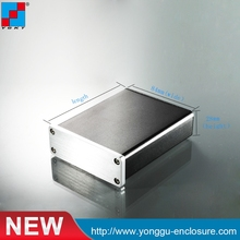 84*28-100 mm  (W-H-L)  small aluminum box electronic project boxes  enclosures for pcb amplifier case