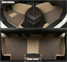 Custom car floor mats made for Hyundai Azera Veloster 6D full cover good heavy duty car-styling carpet rugs foot liners (2010-)