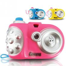 Baby Study Toy Kids Projection Camera Educational Toys for Children, camara de juguete, kids camera, Christmas gift(China)