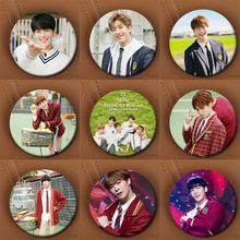 Youpop Kpop Korean ASTRO Mini Third Album Autumn Story Photocard Showcase Brooch Pin Badge Accessories For Clothes Hat Backpack(China)