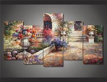 Hd Printed Mediterranean Oil Painting Painting On Canvas Room Decoration Print Poster Picture Canvas Free Shipping/Ny-4087 NO