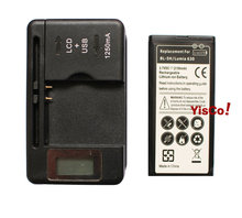 Cisoar 1x 2150mAh BL-5H Rechargeable Li-ion Cell Phone Battery + LCD Universal Wall Charger For Nokia Lumia 630 636 638 635