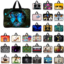 Notebook Messenger Case Sleeve Laptop PC Bag For Netbook Tablet Sleeve For 8 10 12 13 13.3 15 15.6 17 inch Mini Computer(China)