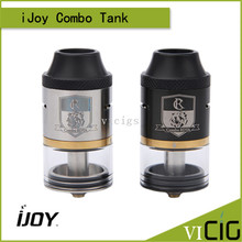 100% Original iJoy Combo RDTA RDA Sub Ohm Tank Atomizer With Side Filling System