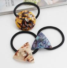 Free Shipping young women geometric Hair bands girl's lovely felt hairbands hairbands Elastic bands for hair