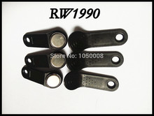 100pcs/lot RW1990 Rewritable RFID Tag iButton Touch Memory Key Compatible DS1990(China)