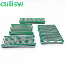 20PCS/LOT 5x7 4x6 3x7 2x8 CM Double Side Copper Prototype PCB Universal Board Experimental Development Plate For arduino(China)
