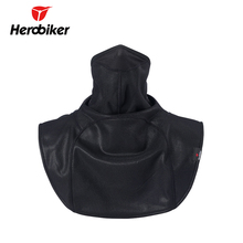 HEROBIKER Motorcycle Face Mask Keep Warm Motorcycle Ski Half Face Mask Winter Protect The Neck Mask