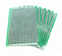 Buy 2PCS 6X8cm 6*8cm Double Side Prototype pcb Breadboard Universal Arduino 2.54mm Glass Fiber Practice DIY Kit Tinned HASL for $1.30 in AliExpress store