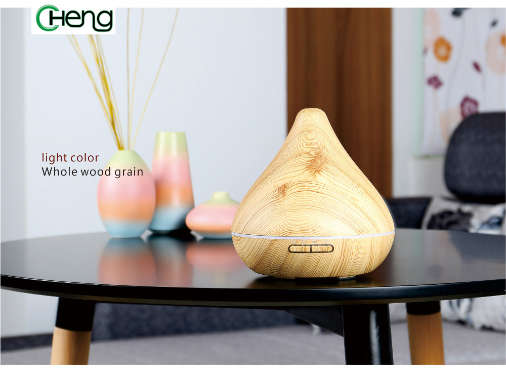 Diffuser Light Wood Aroma Diffuser Essential Oil Diffuser Aroma Lamp Aromatherapy Electric Air Humidifier Mist Maker For Home <br>