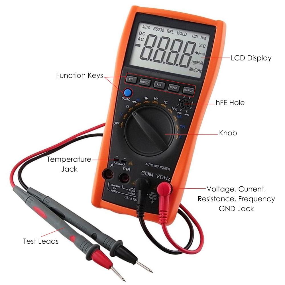 gain-express-gainexpress-Multimeter-VC-97-Parts