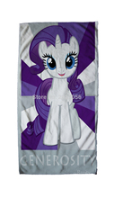 Free Shipping Anime Manga My Little Pony Rainbow Horse  Face Towels 30x70cm Hand Towel 007