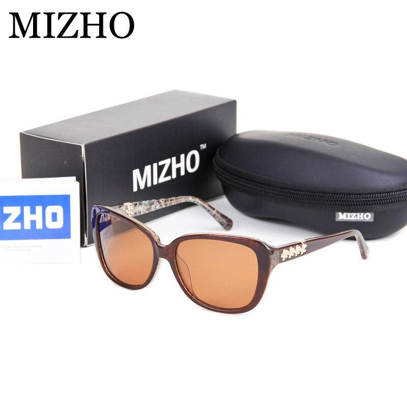 MIZHO Brand Designers High-End Acetate Sunglasses Women Polarized Luxury 2017 Boutique Polaroid Lens oculos feminino Vintage<br><br>Aliexpress