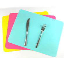 Rectangle 30*40cm Silicone Place Heat Resistant Non Slip Table Mats