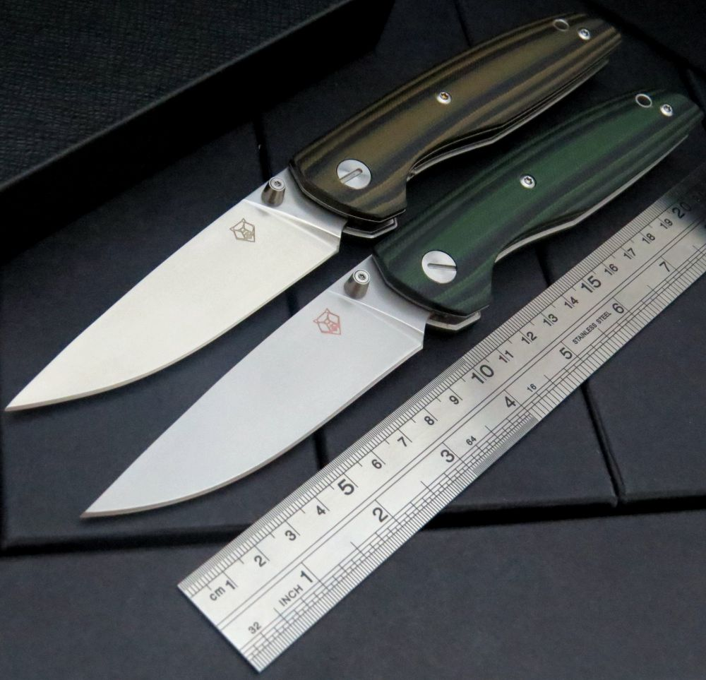 Great New EDC Tools F33 Bearing folding knife D2 blade G10 handle outdoors camping hunting pocket fruit knives<br><br>Aliexpress