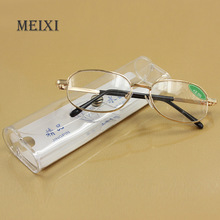 Full metal frame glass lenses female male Reading Glasses Women Men Unisex Eyewear 1.0 1.5 2 2.5 3 3.5 4 4.5 5 5.5 6