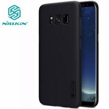 Case For Samsung Galaxy S8 / S8 Plus / s4 NILLKIN Super Frosted Shield back cover with free screen protector and Retail package(China)