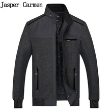 Spring Autumn Zipper Spring Coats Male Jackets Clothing Men's Jackets Stand Collar outwear Middle-aged Man Casual Jackets 50wy