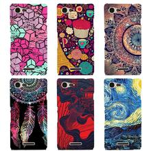 Buy Soft Cases Sony xperia E3 D2203 D2206 D2212 Fashion Painted Soft Silicone TPU Back Cover Sony Xperia E3 E 3 Phone Case for $2.18 in AliExpress store