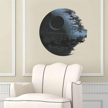 % ultimately weapon Death Star Star War wall stickers movie fans home decor kids wall decal mural art cartoon wallpaper
