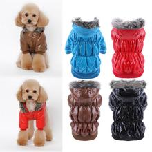 Waterproof Pet Dog Clothes Coat For Small Dog Winter Puppy Jacket Warm Clothing Pet Products S/M/L/XL/XXL Dog Clothes(China)
