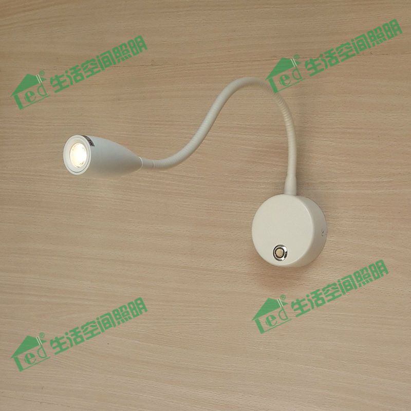 Update Neat Elegant Smart Bed Lamp Universal volts 3W 200LM CREE LED Touch on/off switch 15%-100% without causing eyestrain<br>