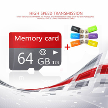 New Arrival memory card 16GB 32GB 64GB 128GB micro Memory class 10 class 6 micro TF Card For Cell phone mp3 Gift card readerT1