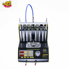 Good quality AUTOOL CT200 gasonline 6/4 cylinder Car Motorcycle Auto Ultrasonic Injector Cleaning Tester machine 220/110V