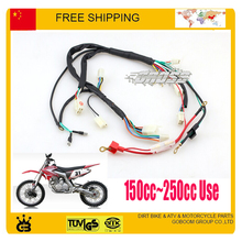 motorcycle 150cc 200c 250cc dirt bike pit  parts electric cable assy electronic wire accessories free shipping