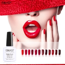 Elite99 10ml Long Lasting Wine Red Series Nail Gel Polish Soak Off Gel Polish Need UV Lamp Nail Polish Gel Varnish