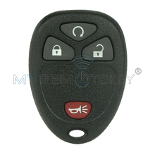 4 button Remote Fob shell 20859053 for GM Avalanche Sierra Acadia remtekey(China)