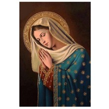 Diamond Mosaic Diy 5d Diamond Painting Cross Stitch The Religious Pictures Of Maria Family Decoration Ornaments Handmade ST647(China)