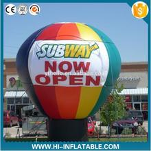 5m Inflatable cold air balloon for advertising,big inflatable ground balloon for advertisement