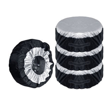 "4pcs Tire Storage Bags Seasonal Wheel Tire Protector Covers Car  For 13-20"" Tires Car Van SUV Wheel Protector Tyre Accessories"
