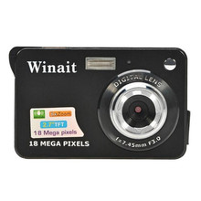 New Arrival! High Quality 18 Mega Pixels CMOS 2.7 inch TFT LCD Screen HD 720P Digital Camera digitale kamera Feb7