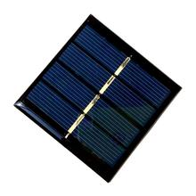 HOT Sale 0.45W 2V Mini Solar Cell Polycrystalline Solar Panel Diy Solar Charger Solar Module 58*58*3MM 10pcs/lot Free Shipping