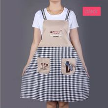 Adjustable Apron Bib Uniform With 2 Pockets Hairdresser Kit Salon Hair Tool Chef Waiter Kitchen Cook Tool
