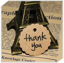 50pcs Thank You Gift Tags Kraft Paper Tag Vintage Tag for Wedding Party Christmas DIY Accessories rustic wedding centerpieces