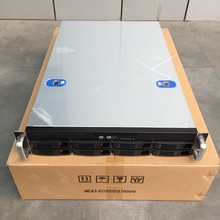 2U660mm 8 disk hot-swappable 19-inch rack server Chassis Industrial computer storage Internet cafes Computer case