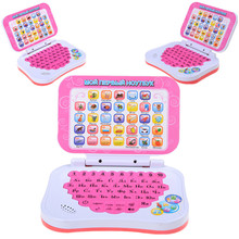 Hot Sale Kid Laptop Russian Language Learning Machine Learning Education Toys Computers Russian Alphabet Pronunciation Computer(China)