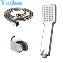 Hot selling free shipping !! hand shower sets high quality hand shower +1.5M stainless steel shower hose +holder, YT-5205
