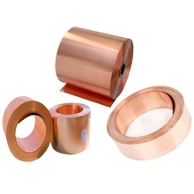 1M/LOT HIGH QUALITY Copper Strip Thickness 0.1/0.2/0.3/0.5MM*W50MM Red Copper Sheet Copper Foil Copper plate T2(China)