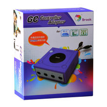 Brook GameCube 4 Ports GC Controller Adapter Convertor for Wii U for PC USB for Android(China)