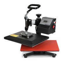 BestEquip Heat Press Machines Swing Away Heat Press 12x10 Inch Heat Press Machine for T Shirts with Digital LCD timer and Temper