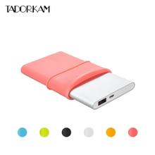 High quality Gel Rubber case 100% Fit For Xiaomi Power bank 10000mah Second Generation protetive cover silicone case